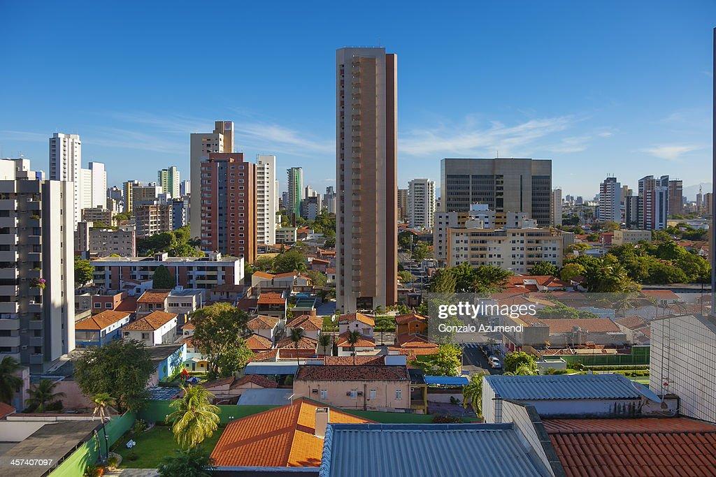 Meireles neighborhood in Fortaleza. : Stock Photo