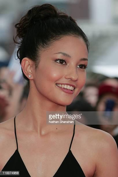 Meisa Kuroki during MTV Video Music Awards Japan 2006 Red Carpet at Yoyogi National Stadium in Tokyo Japan