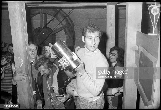 Meisterfeier des SC Bern 1974: Paul-André Cadieux