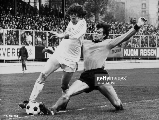 Meisterschaft NLA 1976/77: FCZ - GC; René Botteron