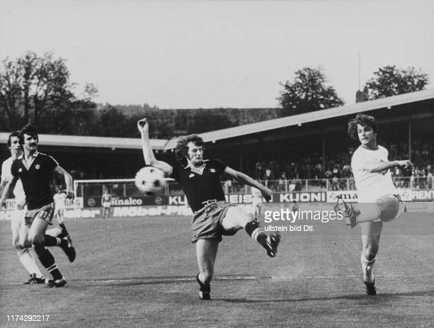 Meisterschaft NLA 1976/77: FCZ - Servette; Bizzini; Cucinotta