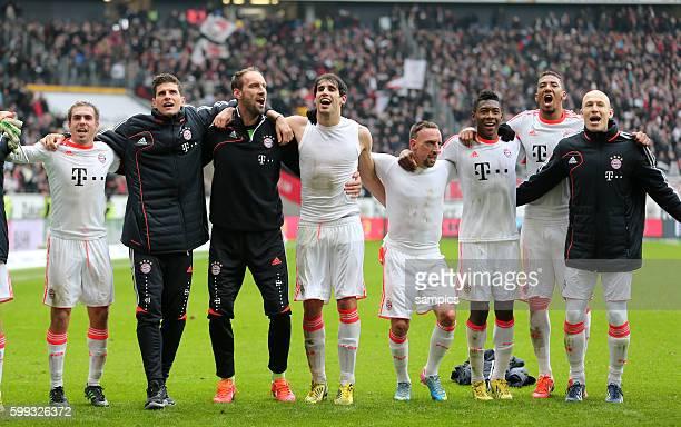 Meistertanz .. Phlipp LAHM FC Bayern München Mario GOMEZ FC Bayern München Tom Starke FC Bayern München , Javi Martinez FC Bayern München Franck...