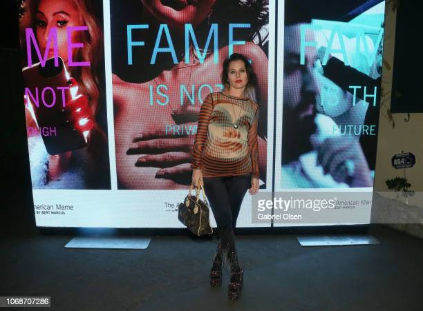 Meital Dohan attends The American Meme special screening after party at the private residence of Jonas Tahlin CEO of Absolut Elyx on December 4 2018...