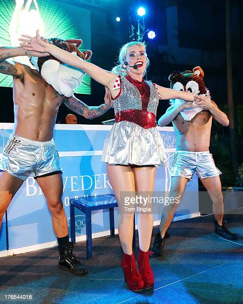 Meital Dohan performs at The Pool After Dark at Harrah's Resort on Wednesday August 14 2013 in Atlantic City New Jersey