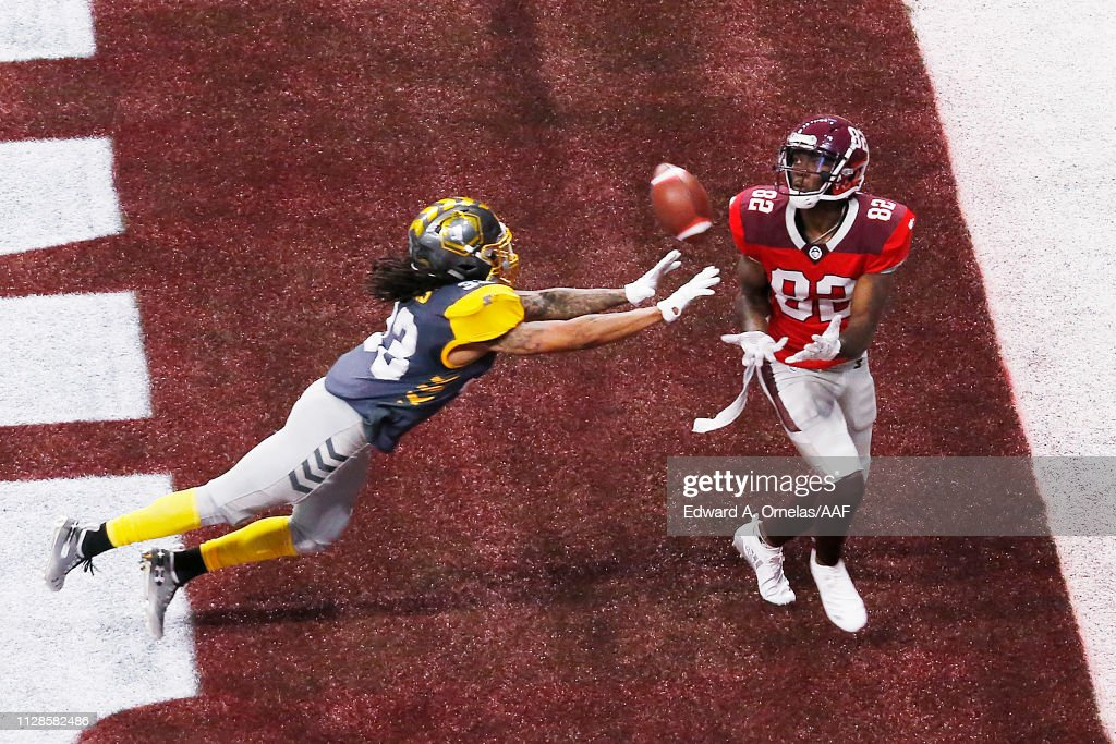 San Diego Fleet v San Antonio Commanders : News Photo