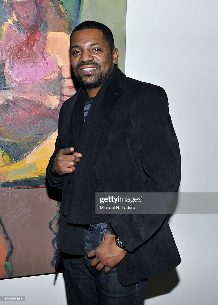 Mekhi Phifer attends the Hennessy VS Presents 'The Inevitable Defeat of Mister and Pete' sponsored by Reebok and Blackberry at the Julie Nester Gallery on January 17, 2013 in Park City, Utah.