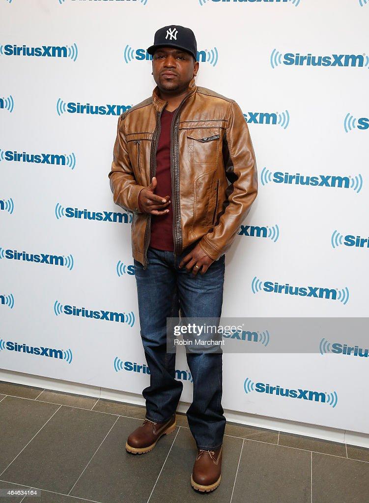 Mekhi Phifer vists at SiriusXM Studios on February 27, 2015 in New York City.