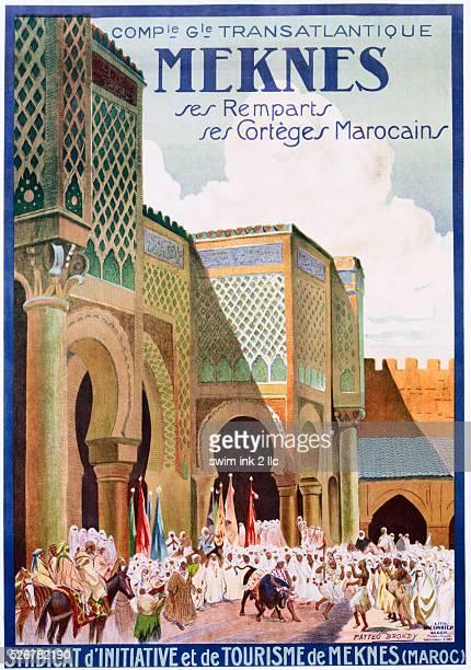 Meknes Poster by Matteo Brondy