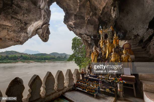 Mekong River and Pak Ou Caves in Laos