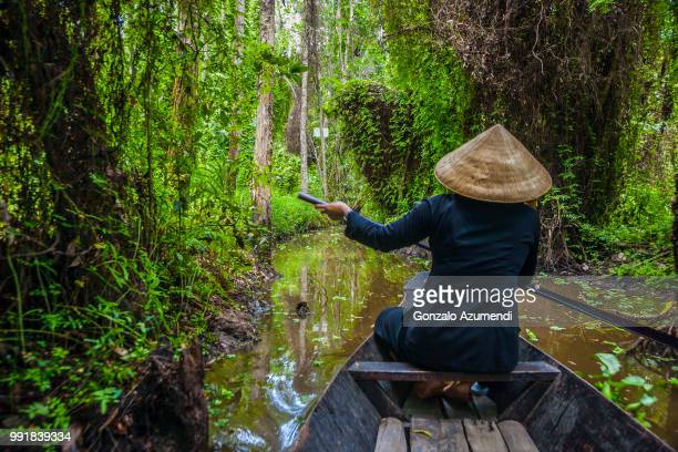 mekong river delta in vietnam - mekong delta stock pictures, royalty-free photos & images