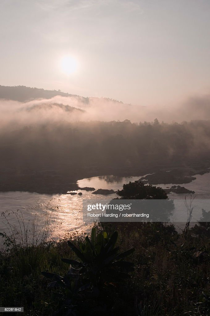 Mekong River, Golden Triangle area of Thailand, Southeast Asia, Asia : Stock Photo