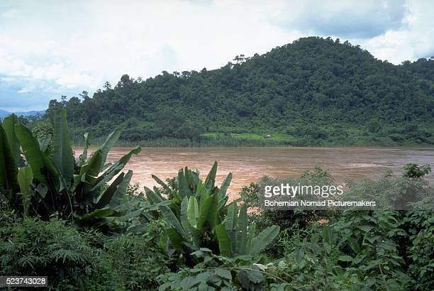 Mekong River Rushing in Valley