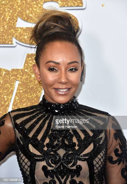 "Mel B attends ""America's Got Talent"" Season 13 Live Show Red Carpet at Dolby Theatre on August 21, 2018 in Hollywood, California."