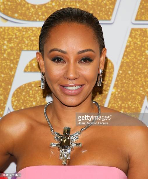 Mel B attends America's Got Talent Season 13 Live Show Red Carpet on September 11 2018 in Los Angeles California