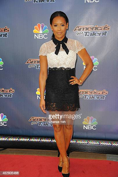 Mel B attends America's Got Talent season 9 preshow red carpet event at Radio City Music Hall on July 29 2014 in New York City
