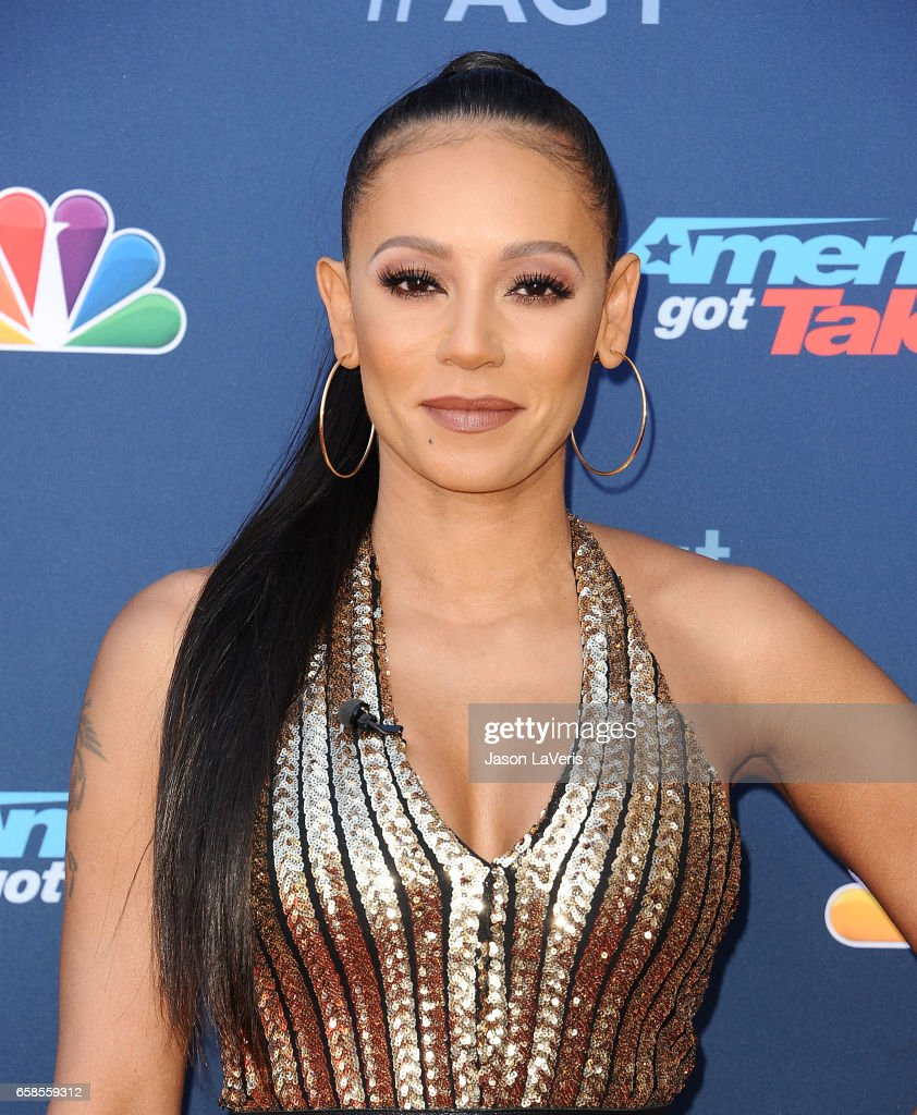 Mel B attends NBC's 'America's Got Talent' season 12 kickoff at Pasadena Civic Auditorium on March 27, 2017 in Pasadena, California.