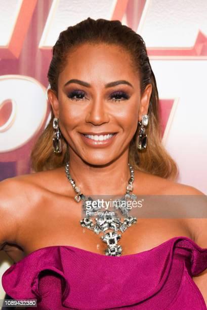 Mel B attends NBC's America's Got Talent The Champions at Sheraton Pasadena Hotel on October 10 2018 in Pasadena California