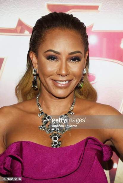 "Mel B attends NBC's ""America's Got Talent: The Champions"" at the Sheraton Pasadena Hotel on October 10, 2018 in Pasadena, California."