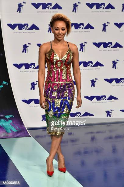Mel B attends the 2017 MTV Video Music Awards at The Forum on August 27 2017 in Inglewood California