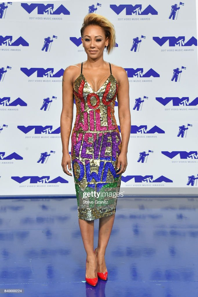 Mel B attends the 2017 MTV Video Music Awards at The Forum on August 27, 2017 in Inglewood, California.