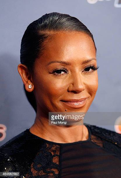 Mel B attends the America's Got Talent postshow red carpet event at Radio City Music Hall on September 3 2014 in New York City