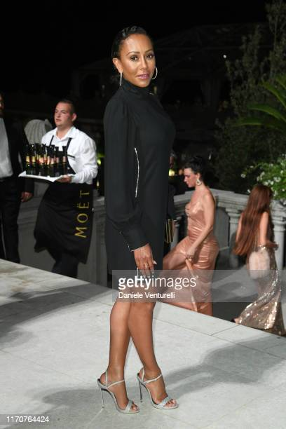 Mel B attends the opening ceremony dinner during the 76th Venice Film Festival at Excelsior Hotel on August 28, 2019 in Venice, Italy.