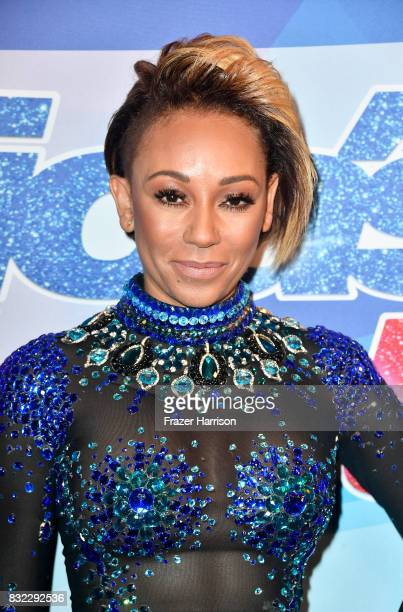 Mel B attends the Premiere Of NBC's America's Got Talent Season 12 at Dolby Theatre on August 15 2017 in Hollywood California