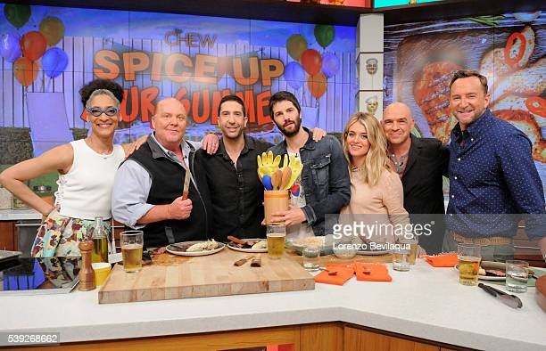 THE CHEW Mel B David Schwimmer and Jim Sturgess are guests on 'The Chew' Monday June 13 2016 'The Chew' airs MONDAY FRIDAY on the ABC Television...