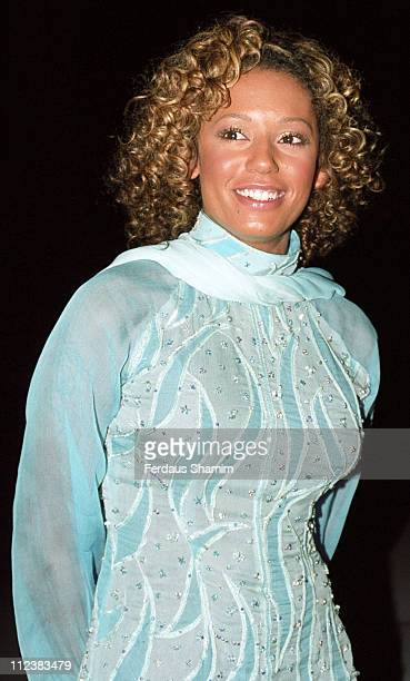 Mel B during Asian Woman Award 2001 at Grosvenor House Hotel in London Great Britain