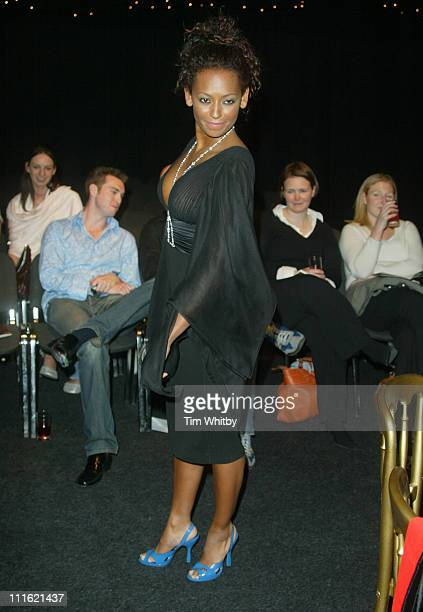 Mel B during The Aura of Asia Arrivals and Show at Battersea Marquee in London Great Britain