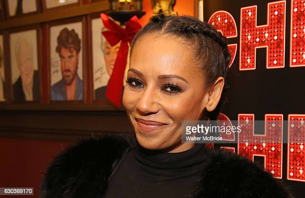 Mel B during the photocall for Mel B Joins The Cast of Broadway's 'Chicago' at Sardi's on December 21 2016 in New York City