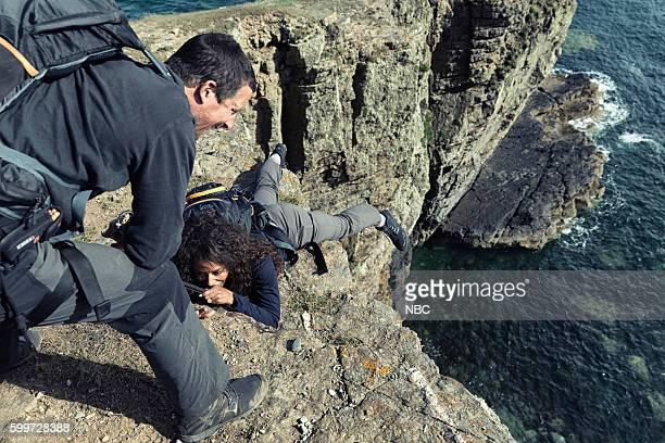 GRYLLS 'Mel B' Episode 308 Pictured Bear Grylls Melanie 'Mel B' Brown