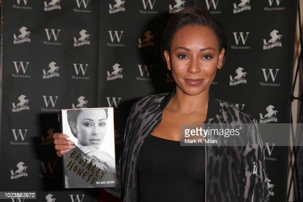"Mel B meets fans and signs copies of her new memoir ""Brutally Honest"" at Waterstones Bluewater on November 28, 2018 in Greenhithe, England."