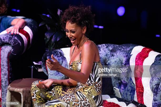 Mel B on stage during her Brutally Honest Fabulous Show at The Grand Theatre Opera House on August 25 2019 in Leeds England