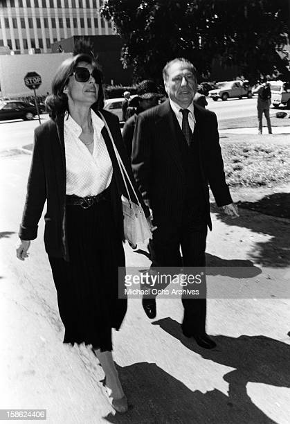 Mel Brooks and Anne Bancroft attend an event circa 1980 Anne Bancroft in Los Angeles California