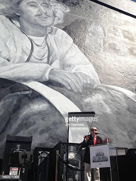 Mel Brooks at the Mel Brooks street and mural dedication at Fox Studios in Los Angeles California on October 23 2014