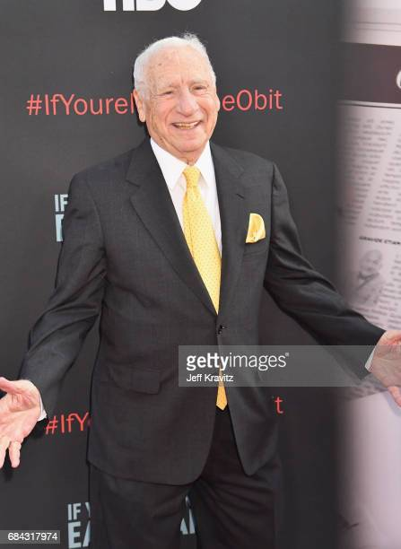 Mel Brooks at the LA Premiere of If You're Not In The Obit Eat Breakfast from HBO Documentaries on May 17 2017 in Beverly Hills California