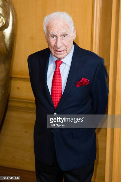 Mel Brooks attends BAFTA fellowship lunch at The Savoy Hotel on February 11 2017 in London United Kingdom