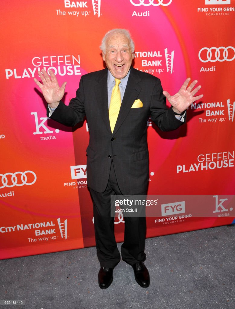 Mel Brooks attends Geffen Playhouse's 15th Annual Backstage at the Geffen Fundraiser at Geffen Playhouse on March 19, 2017 in Los Angeles, California.