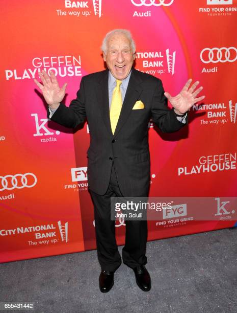 Mel Brooks attends Geffen Playhouse's 15th Annual Backstage at the Geffen Fundraiser at Geffen Playhouse on March 19 2017 in Los Angeles California