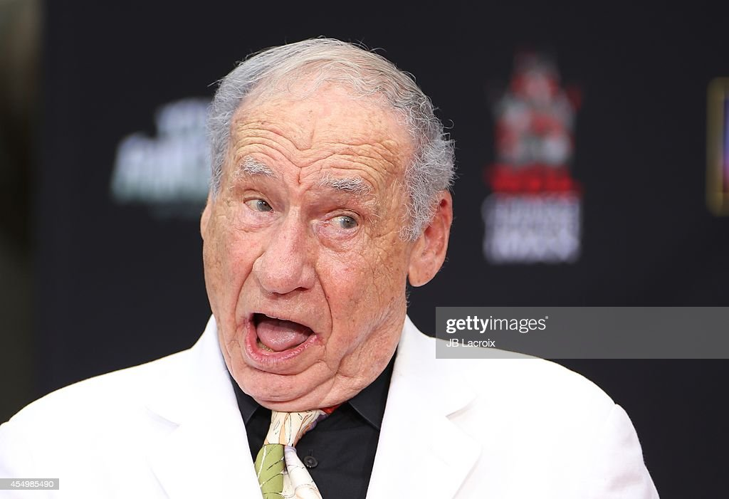 Mel Brooks Hand And Footprint Ceremony