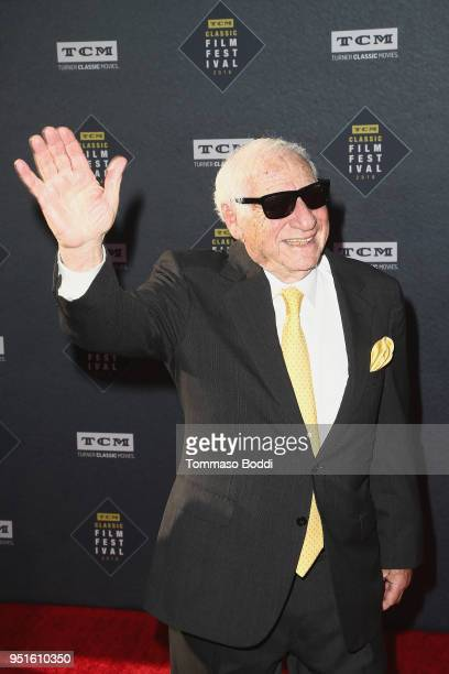 Mel Brooks attends the 2018 TCM Classic Film Festival Opening Night Gala 50th Anniversary World Premiere Restoration Of The Producers at TCL Chinese...