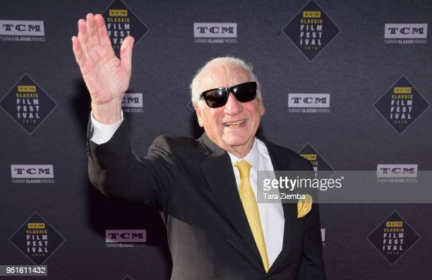 Mel Brooks attends the 2018 TCM Classic Film Festival Opening Night Gala 50th Anniversary World Premiere Restoration of 'The Producers' at TCL...
