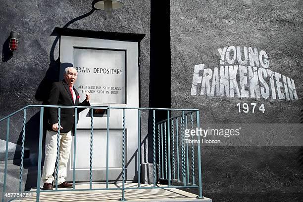 Mel Brooks attends the Mel Brooks mural street dedication ceremony at the Fox Studios on October 23 2014 in Century City California