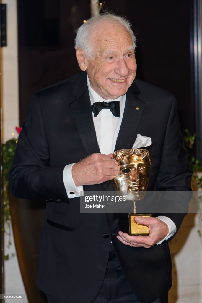 Mel Brooks attends the official after party for the 70th EE British Academy Film Awards (BAFTA) at The Grosvenor House Hotel on February 12, 2017 in London, England.