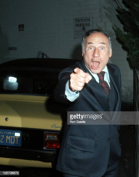 Mel Brooks during 'Golda' Broadway Opening Night After Party at Tower Suite in New York City New York United States