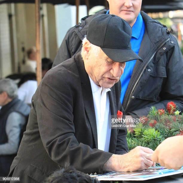 Mel Brooks is seen on January 12 2018 in Los Angeles CA