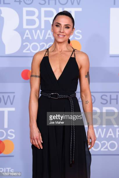 Mel C attends The BRIT Awards 2020 at The O2 Arena on February 18, 2020 in London, England.