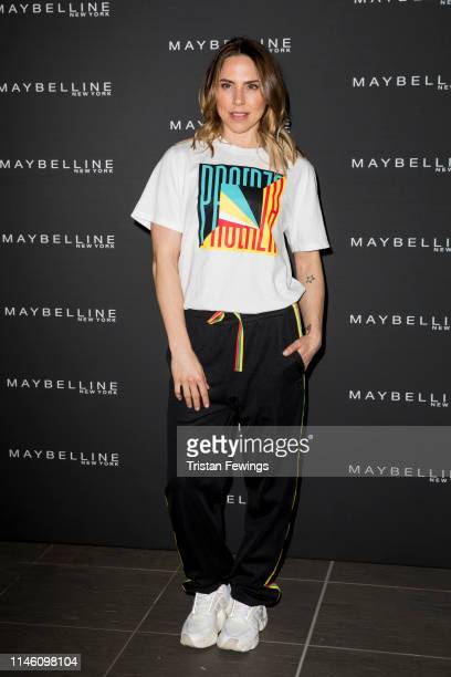 Mel C attends the Jourdan Dunn X Maybelline Party at Covent Garden on April 30, 2019 in London, England.