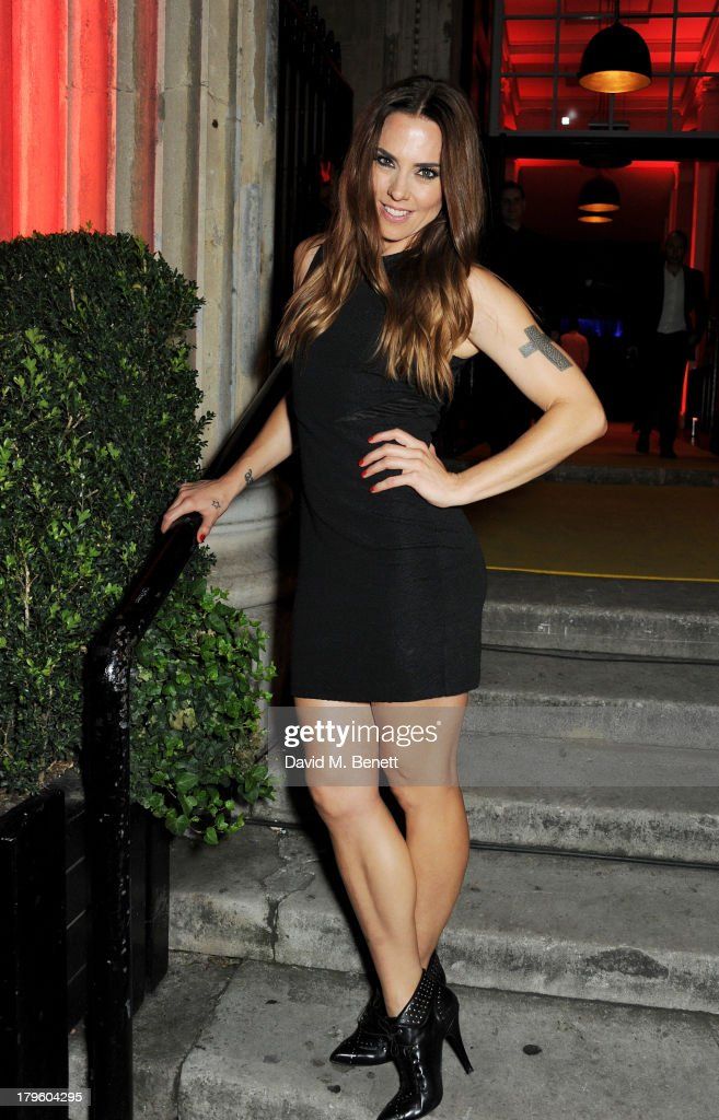 Mel C attends the Queen AIDS Benefit in support of The Mercury Phoenix Trust at One Mayfair on September 5, 2013 in London, England.